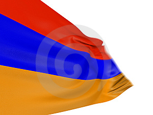 Motion Blur 3D Armenian Flag Stock Photo - Image: 7847420