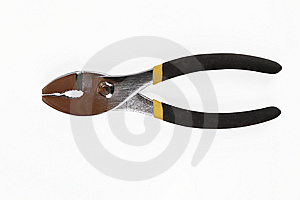 Round Nose Fence Pliers Royalty Free Stock Photography - Image: 7847467