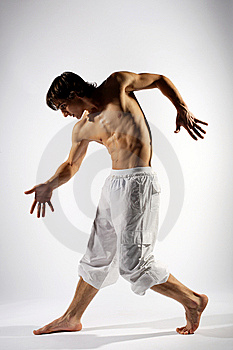 Modern Style Dancer Stock Photography - Image: 7848882