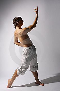 Modern Style Dancer Royalty Free Stock Photos - Image: 7849018