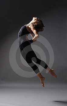 Modern Style Dancer Royalty Free Stock Photography - Image: 7849187