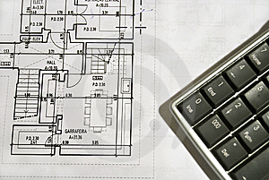 Architecture Plan Stock Images - Image: 7850344