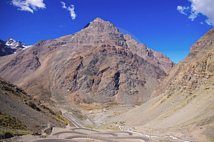 Andes Mountains Stock Photography - Image: 7850632