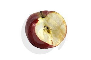 Bitten Apple Stock Photography - Image: 7850732