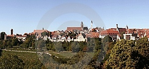 View Of Rothenburg Ob Der Tauber Stock Images - Image: 7850974