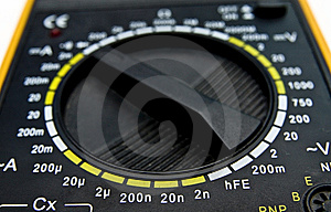 Multimeter Dial Royalty Free Stock Photo - Image: 7850995