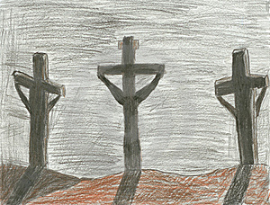 The Crucifixion Royalty Free Stock Image - Image: 7850996