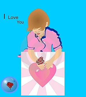 Happy Mothers Day Illustration Stock Photos - Image: 7851463