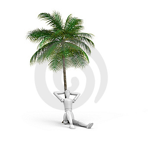 Person On Vacation Royalty Free Stock Photos - Image: 7851948