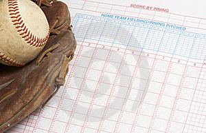 Baseball Score Royalty Free Stock Images - Image: 7852299