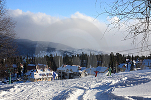 Mountain-skier Resort. Royalty Free Stock Photos - Image: 7853518