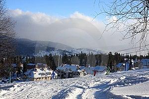 Mountain-skier Resort. Royalty Free Stock Photos - Image: 7853518