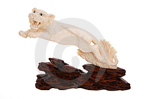 Ivory Figurine Royalty Free Stock Images - Image: 7853529