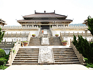 Yan Emperor's Tomb Royalty Free Stock Image - Image: 7853616