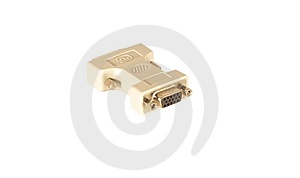 DVI - SVGA Adapter Stock Photo - Image: 7853960