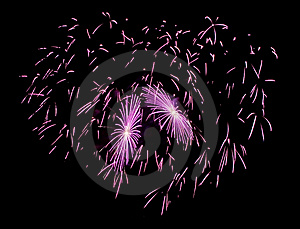 Firework Heart Stock Photography - Image: 7854642