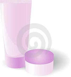 Tube Pink Royalty Free Stock Image - Image: 7856456