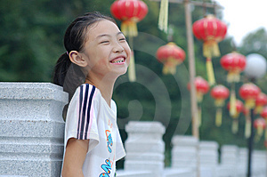 A Happry  Little Girl Royalty Free Stock Image - Image: 7856646