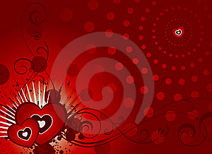 Valentine Card Part 2 Royalty Free Stock Photo - Image: 7857905