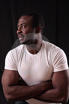 Man In Studio Stock Images - Image: 7858294