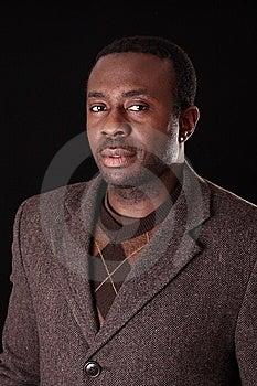 Man In Studio Stock Image - Image: 7858301