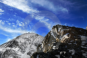 Lone Peak Royalty Free Stock Photos - Image: 7859068