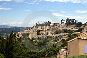 Bonnieux, Hilltop Village In Provence, France Stock Images - Image: 7861144