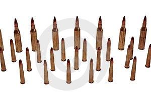 Ammo 44 Royalty Free Stock Image - Image: 7861186