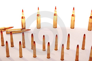 Munitions 45 Images libres de droits - Image: 7861199