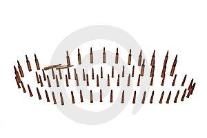 Ammo 47 Royalty Free Stock Photos - Image: 7861218