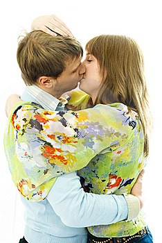 Kissing Young Couple Stock Photos - Image: 7861283