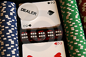 Poker Time... Royalty Free Stock Photography - Image: 7861287