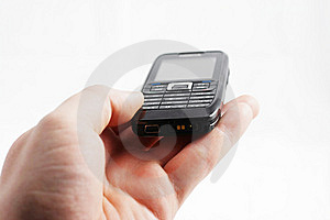 Mobile In Hand Stock Photography - Image: 7862722