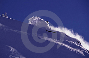 Powder Day Stock Image - Image: 7863241