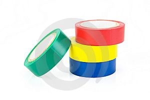 Electrical Tape Royalty Free Stock Image - Image: 7865066