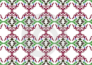 Decorative Wallpaper Design Royalty Free Stock Images - Image: 7867309