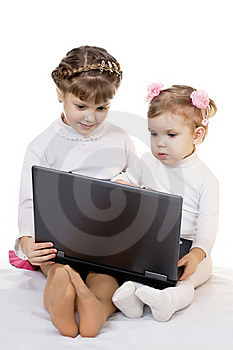 Two Girls Royalty Free Stock Photo - Image: 7867945