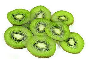 Kiwi Fruit Slices Royalty Free Stock Image - Image: 7868536