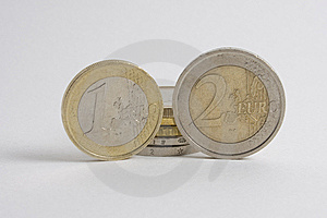 Euros Coin Stock Photos - Image: 7870893