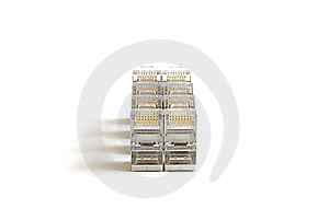 RJ-45 Connector Royalty Free Stock Images - Image: 7870899