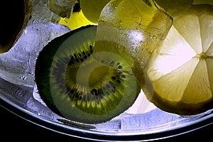 Kiwi Lemon Ice Royalty Free Stock Image - Image: 7871186