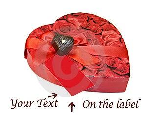 Heart Shaped Box Of Chocolates Isolated Over White Royalty Free Stock Photography - Image: 7872177