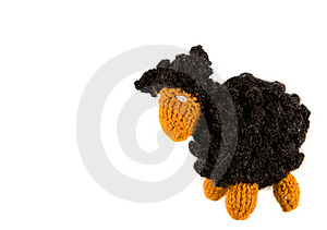 Crocheted Lamb Royalty Free Stock Image - Image: 7872466