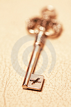 Old Key Stock Photography - Image: 7874342