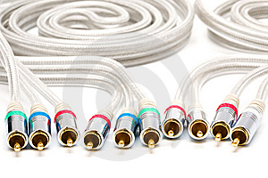 Video And Audio Cable Stock Photo - Image: 7874770