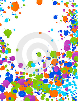 Bright Blot Background Royalty Free Stock Images - Image: 7876279
