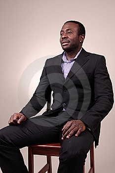 Man In Studio Royalty Free Stock Photo - Image: 7876315