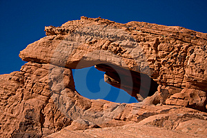 The Valley Of Fire Arch Stock Photos - Image: 7877433