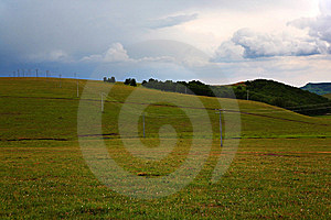 GRASSLAND Stock Photo - Image: 7878930