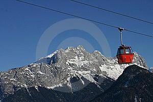 Ski Gondola Royalty Free Stock Image - Image: 7881206